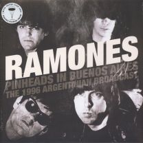 RAMONES - Pinheads In Buenos Aires (Clear Vinyl)