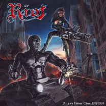 RIOT - Archives Volume 3: 1987-1988 (Red Vinyl ) + DVD