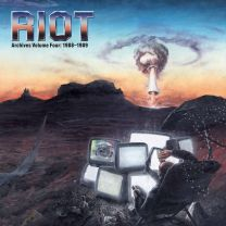 RIOT - Archives Volume Four: 1988-1989 (Transparent Blood Red Vinyl)