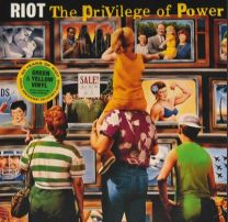 RIOT - The Privilege Of Power (Green & Yellow vinyl)