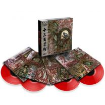 CANNIBAL CORPSE - 15 Year Killing Spree (Box 4 lp's , Red vinyls)
