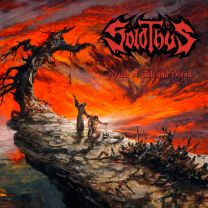 SOLOTHUS - Realm Of Ash And Blood (Transparent Red Inside Transparent Orange Vinyl)