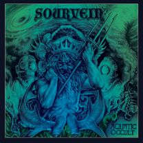 SOURVEIN ‎– Aquatic Occult (Green/Blue Marbled Vinyl)