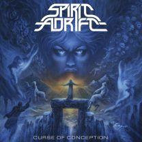 SPIRIT ADRIFT - Curse Of Conception (Baby Blue,White & Red Splatter Vinyl)