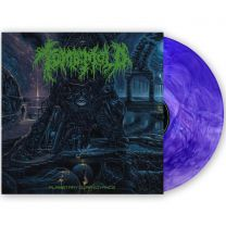 TOMB MOLD - Planetary Clairvoyance (Ultra Clear/Royal Blue/Deep Purple Tri-Color Galaxy Vinyl)