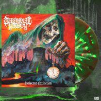 TERMINAL NATION - Holocene Extinction (Neon Green / Red w/ Highlighter Yellow Splatter Vinyl)
