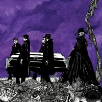 PALLBEARER - 2010 Demo (Purple inside Ultra Clear w/ Purple and Black Splatter Vinyl)