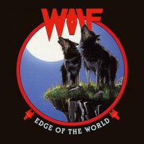 WOLF - Edge Of The World (Red / Black Marbled Vinyl)