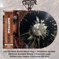 ASPHYX - The Rack (Black Vinyl + Gold/Silver Splatter)