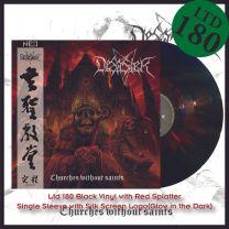 DESASTER - Churches Without Saints (Black Vinyl+Red Splatter)