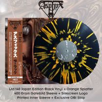ASPHYX - The Rack (Black Vinyl + Orange Splatter)